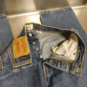 Levi's 501XX Original Button Fly Size 33x32 Jeans!